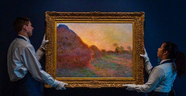 A billion dollars for monet's painting Haystacks