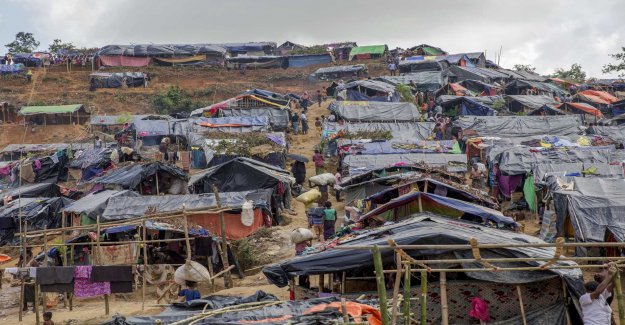 A quarter of a million rohingyer get id cards