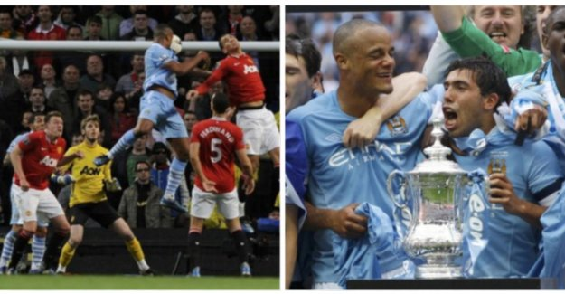 A shot debut, the crucial kopslag and a delicious oorwurm: the most beautiful moments of Kompany at City