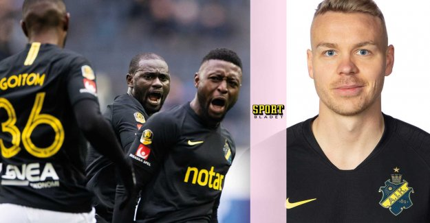 AIK-the talent is missing – the signing used