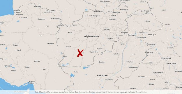 Afghan forces killed in the accidental attack