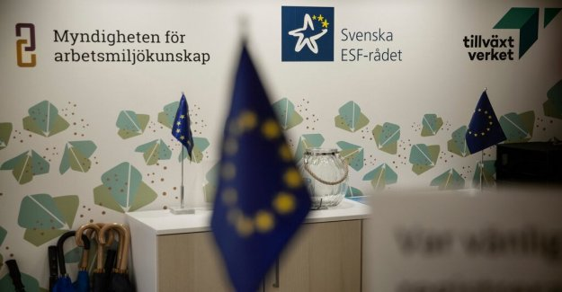 After the DN:s disclosure: Want to set up a new group in order to evaluate the EU contribution in the Stockholm region