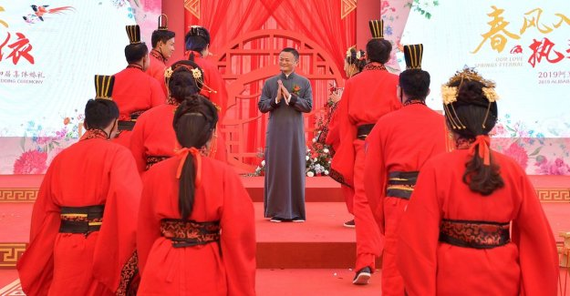 After the werkmarathons encourages Jack Ma of Alibaba are staff now also to seksmarathons'