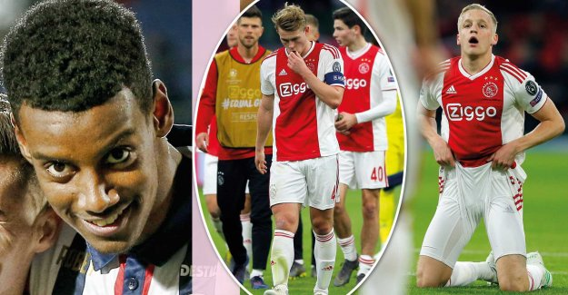 Ajax the fear of Isaac, before the cup final