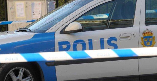 Alarm if shot in Rotebro