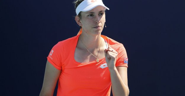 Also Elise Mertens of the place for quarter-finals in Rabat