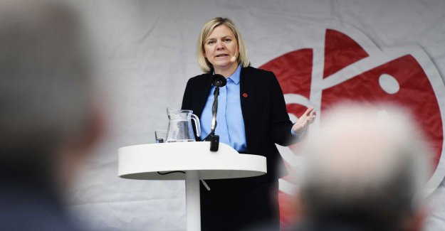 Andersson has the right if right-wing fake-feminism