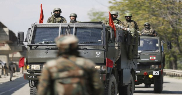 At least seven dead in skottväxlingar in Kashmir