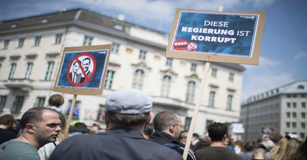 Austria: early elections possible only in the autumn