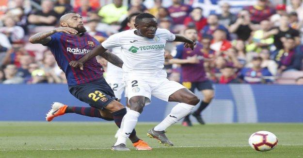 Barcelona put the scupper for Getafes CL-dream