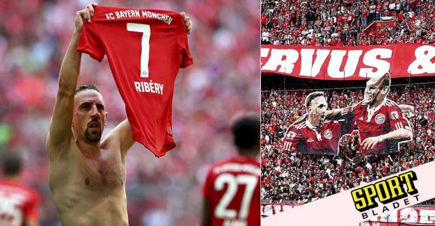 Bayern career in the icon's farewell