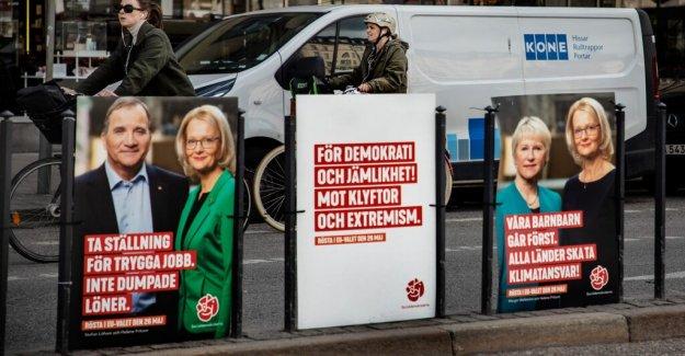 Big differences between the parties ' valkassor