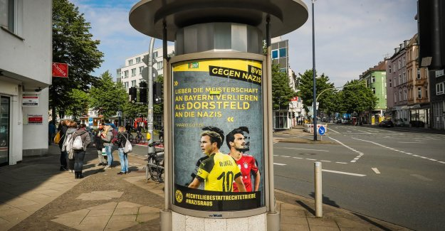 Borussia Dortmund: BVB distancing itself from poster campaign