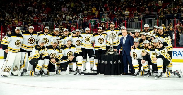 Boston advanced to the Stanley Cup final: Gets teary-eyed
