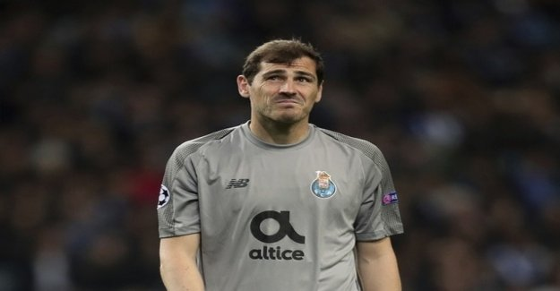 Casillas returns after heart attack to the hospital