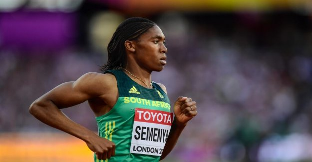 Caster Semenya loses – testosterongränser may be included in the athletics