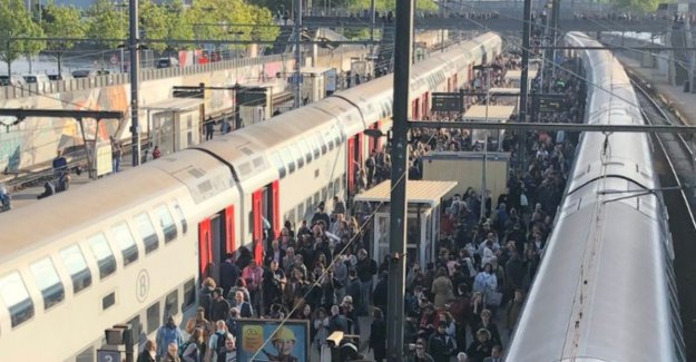 Chaos on the track in Brussels: tomorrow less trains