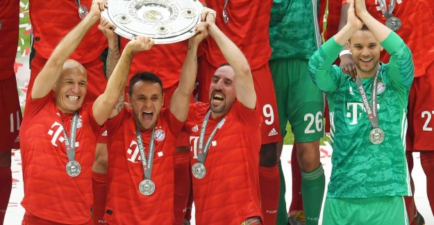 Chasing monuments give Bayern Munich championship title after the gala performance against Eintracht Frankfurt