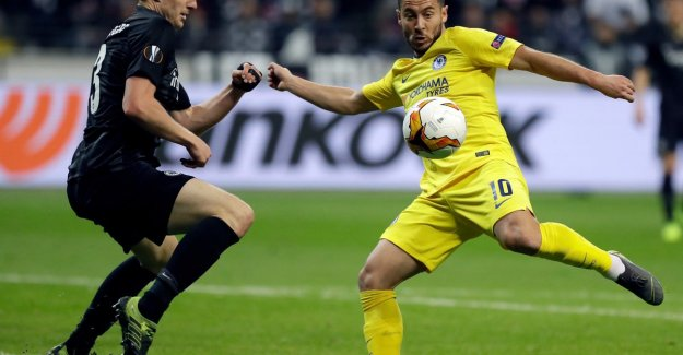 Chelsea will not get past Frankfurt, all on the return in London after a fair tie