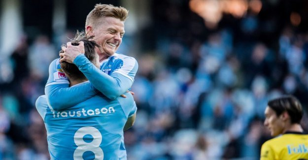 Christiansens projectile determined for malmö ff