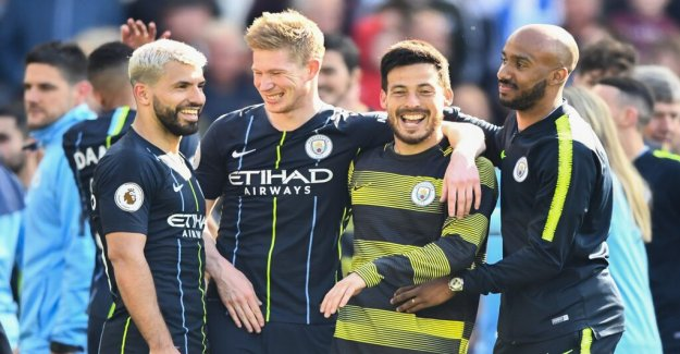 City are in trouble but turned around and won the league