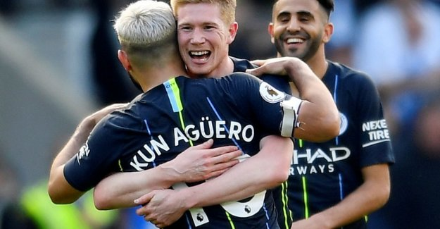 City bibbert a short moment, but the crown for sixth time, to English champion
