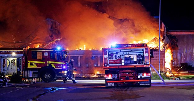 Conflagration in the industrial building – several of the companies affected