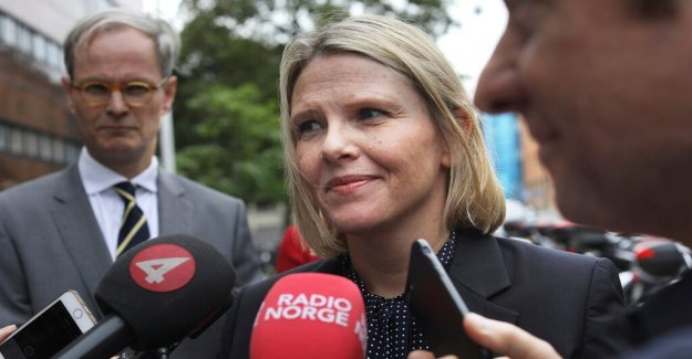 Controversial Listhaug back in the Norwegian government