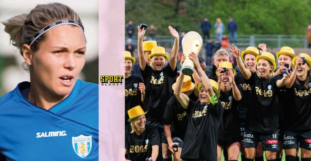 Couldn't even walk – now cup winner with the Gothenburg