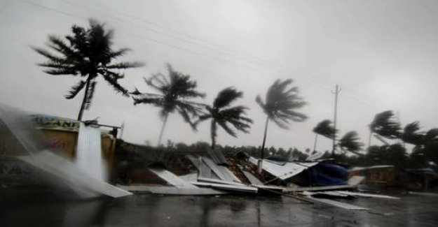 Cyclone Fani reached the Indian East coast