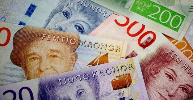 DN Opinion. Replace the weakness of the krona against the euro