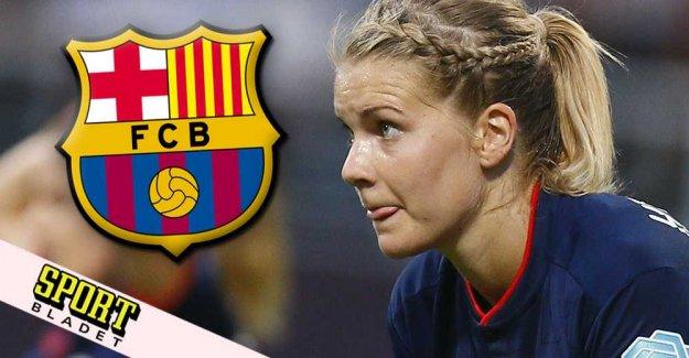 Data: Ada Hegerberg current for Barça