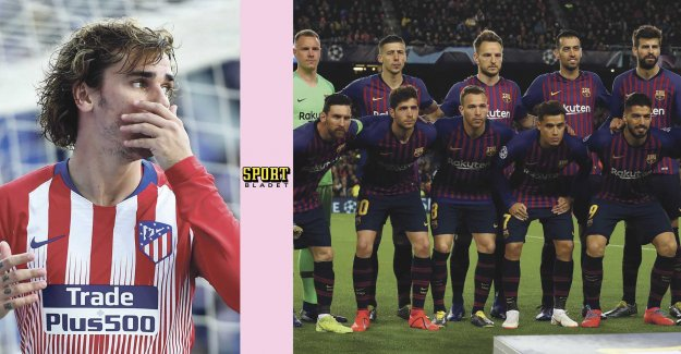 Data: the Players want to stop Griezmannvärvning