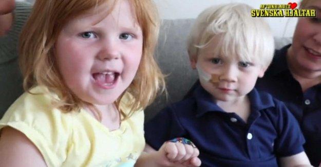 Elsa and Basti calls: #Plåstraförbarncancer 5 may