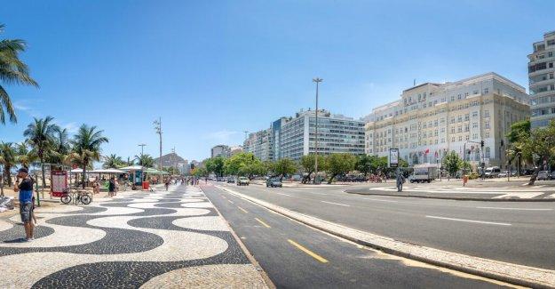 Elsparkcyklar popular for robbers in Rio de Janeiro