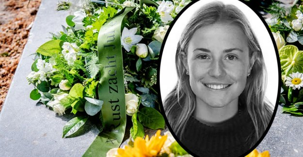 Emotional farewell to murdered student Julie Van Espen (23): This world is its most beautiful treasure lost