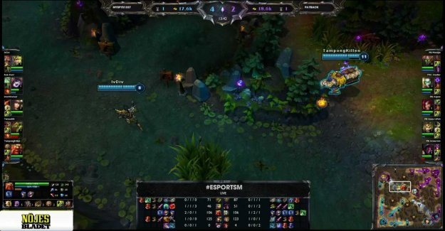 Esport-SM performed, among other songs 1 - League of legends - Payback Gaming vs Myspys1337 map 1