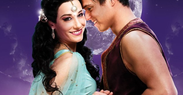 Except. shares the first images of the musical 'Aladdin'