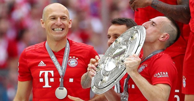 FC Bayern: Party in the old people's home