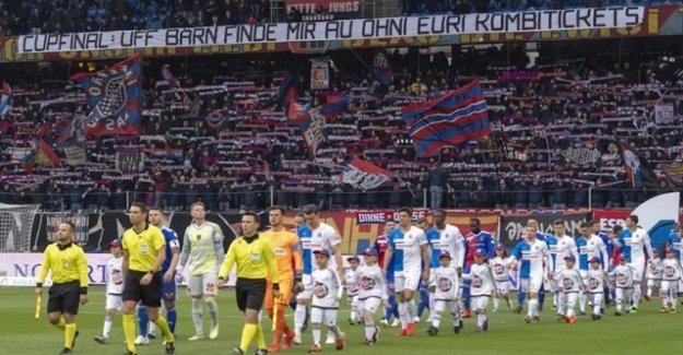 FCB-Fans and the Association of some in the ticket dispute