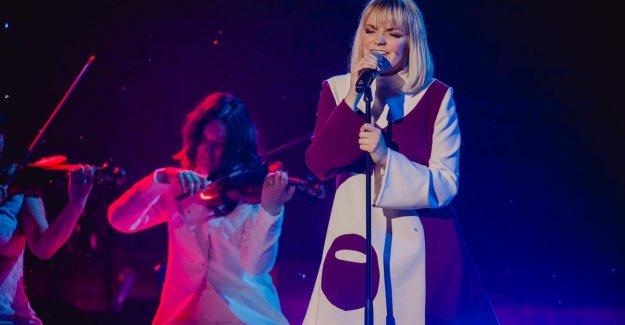Fairy Loobuyck (24) from Knesselare Friday in semi-final The Voice: And to say that I am without a lot of expectations registered