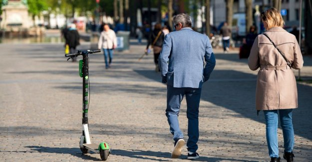 Fatal accident with an electric scooter in Brussels