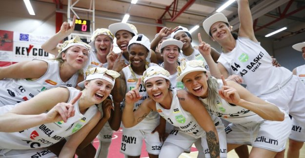 Fifth time lucky for the Umeå – held for pressure in the SM-final