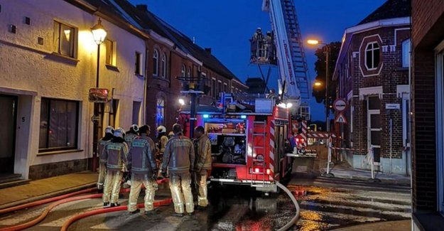 Fire in Molenstraat: home uninhabitable, father and two sons to the hospital