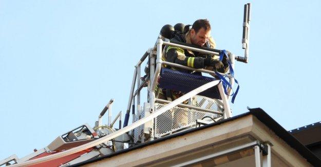 Fire in apartment block in Sundbyberg – suspected arson