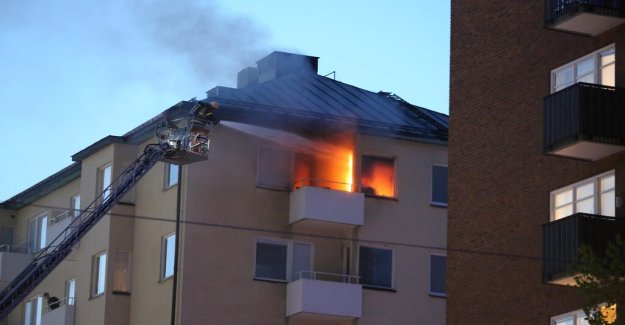 Fire in apartment in central Stockholm – two to the hospital