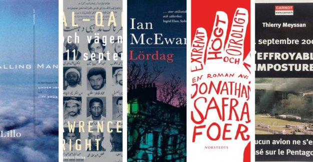 Five books on the eleventh of september