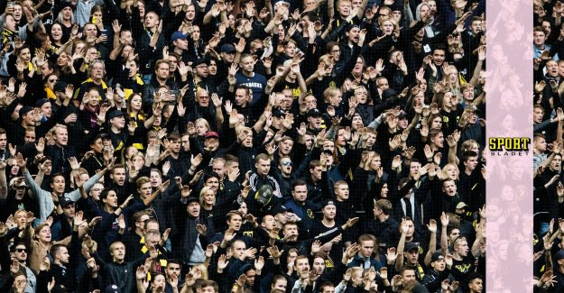 Flags banned at AIK's home game