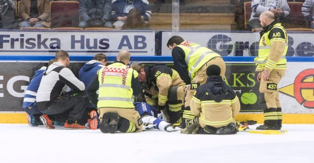 Forsberg after the injury: I'm paralyzed below the chest