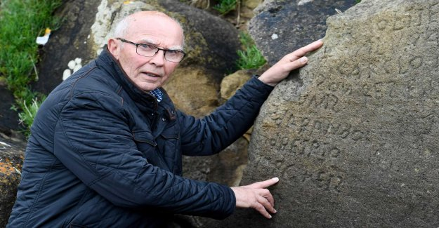 French people are puzzled by the mysterious stone